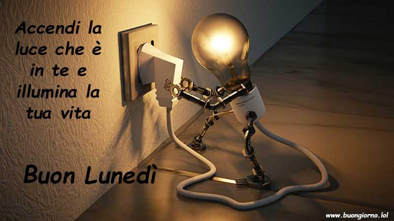 Una lampadina che si accende