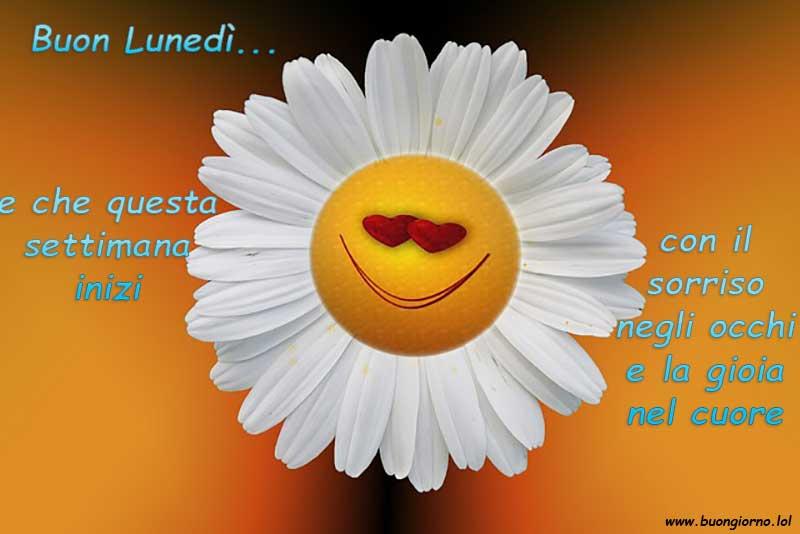 Un fiore che ride