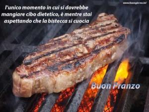 grande bistecca cotta alla griglia