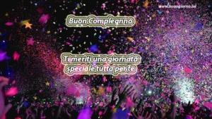 Coriandoli festa