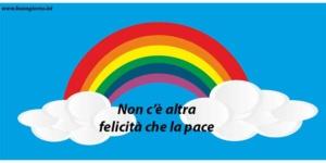 disegno di un arcobaleno