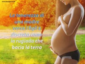 donna incinta in un prato