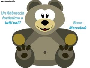 grande orsetto di peluche grigio